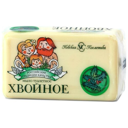 Купить Мыло кусковое Невская Косметика Хвойное, 140 г