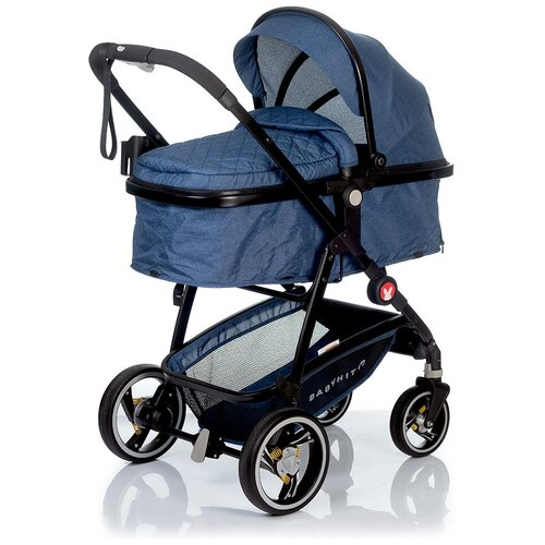 Фото - Коляска-трансформер Babyhit Winger, blue прогулочная коляска babyhit allure бежевый серый