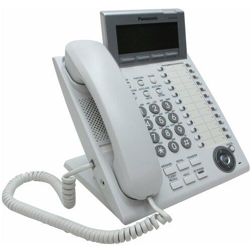 Panasonic KX-DT346RU White цифровой системный телефон panasonic kx dt346ru white цифровой системный телефон