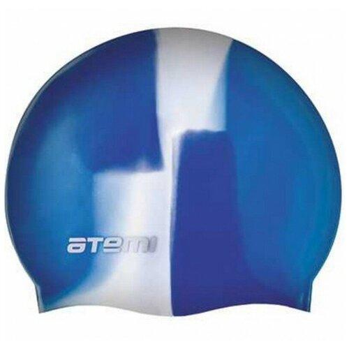 Фото - Шапочка для плавания ATEMI MC208, синий аксессуары для плавания atemi шапочка для плавания графика psc422