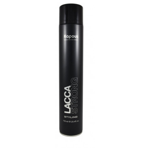 Лак аэрозольный для волос сильной фиксации «Lacca Strong», 750 мл недорого