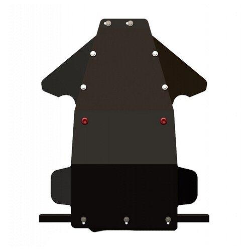Защита картера Sheriff для Лада Нива 4х4 2008-2016, модель №3, сталь 2мм, арт:27.1568