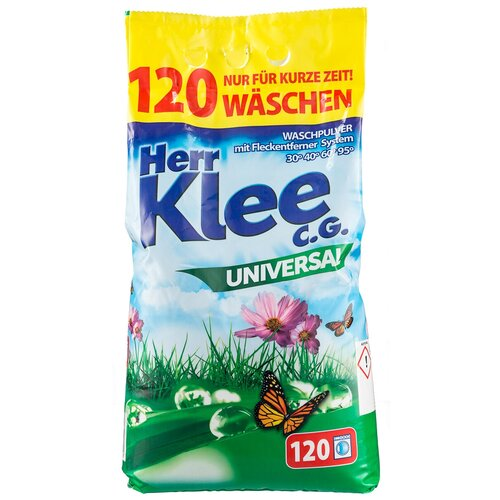 Стиральный порошок Herr Klee Universal универсальный, пластиковый пакет, 10 кг