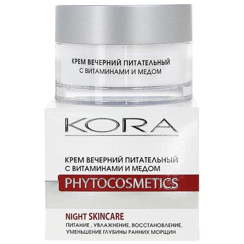Купить Kora Phytocosmetics Крем вечерний питательный с витаминами и медом для лица, 50 мл