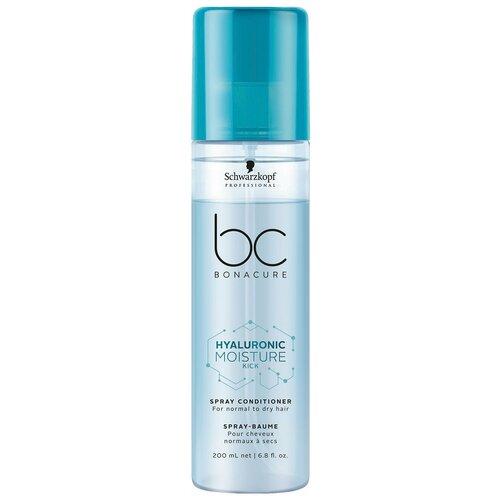 Купить BC Bonacure Hyaluronic Moisture Kick Спрей-кондиционер для волос увлажняющий, 200 мл
