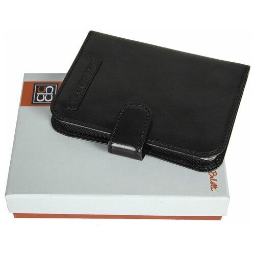 2465 ancona black Обложка для автодокументов Sergio Belotti