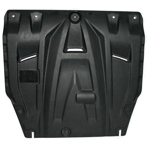 Защита картера двигателя и коробки передач АВС-Дизайн 10.02k для Hyundai