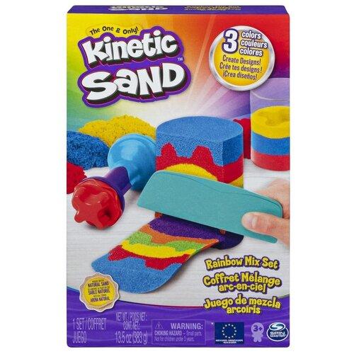 Кинетический песок Kinetic Sand Радуга (6053691)