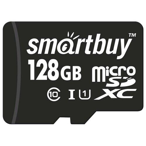 Фото - Карта памяти SmartBuy microSDXC Class 10 UHS-I U1 128 GB, чтение: 80 MB/s карта памяти samsung 128 gb microsdxc class 10 uhs i evo mb mc 128 ga ru