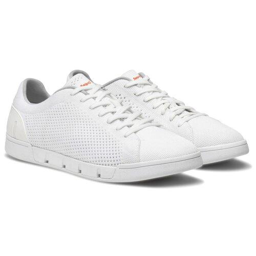 Мужские кроссовки SWIMS Breeze Tennis Knit цвет White размер 44