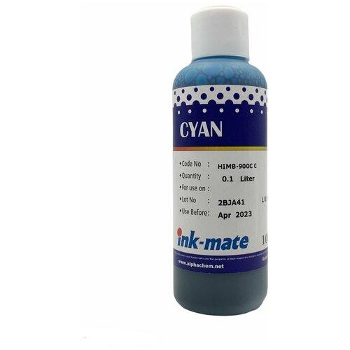 Чернила универсальные для HP / чернила для HP водные Cyan (голубые) 100 мл HIM900C совместимые
