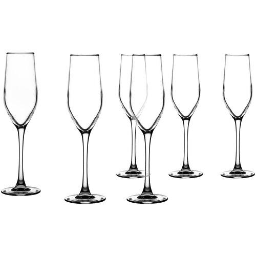 Фото - Luminarc Набор фужеров для шампанского Celeste 160 мл 6 шт L5829 luminarc набор фужеров для шампанского signature 3 шт 170 мл j9756