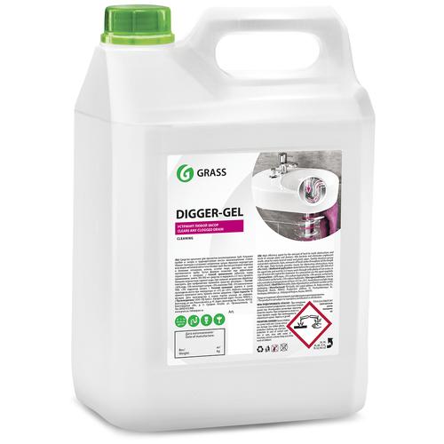 Фото - Grass гель для труб Digger-Gel, 5.3 кг grass гель универсальный dos gel 5 3 кг