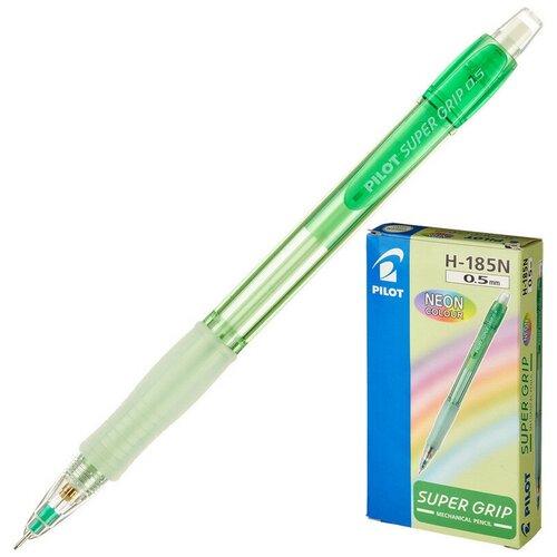 Купить Карандаш механический механический PILOT Neon H-185-N 0, 5мм салатовый Япони 2 штуки, Механические карандаши и грифели