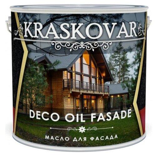 Масло Kraskovar Deco Oil Fasade, изумруд, 5 л