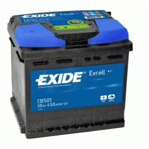 EXIDE Аккумулятор EXIDE EB501 50 А*ч п.п.