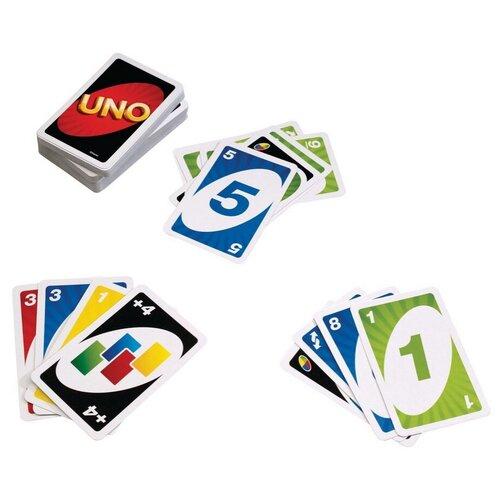 Фото - Настольная игра Mattel Uno W2087 настольная игра уно дисплей uno