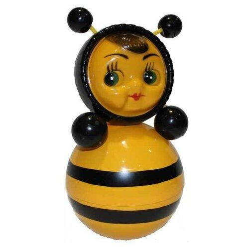 Неваляшка Котовские неваляшки Пчела (6С-011) 22 см желтый/черный