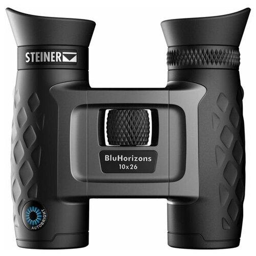 Фото - Бинокль Steiner BluHorizons 10x26 черный/серебристый бинокль steiner bluhorizons 10x42 autobright 2345 steiner бинокль