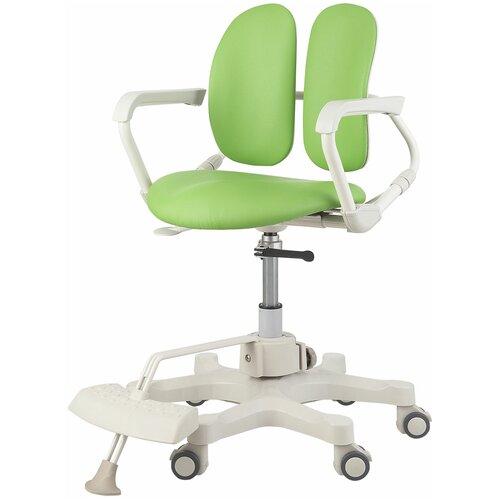 компьютерное кресло duorest kids max детское обивка искусственная кожа цвет светло зеленый Компьютерное кресло DUOREST Kids DR-280DDS детское, обивка: искусственная кожа, цвет: зелeный