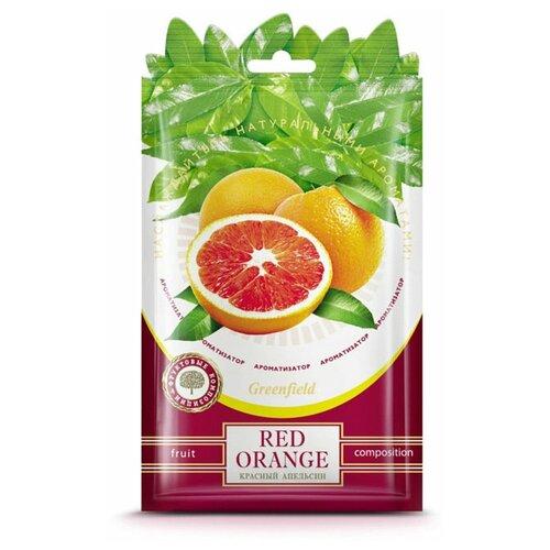 Greenfield Ароматизатор Red Orange, 15 гр greenfield ароматизатор освежитель воздуха parfum francais le violet 15 гр