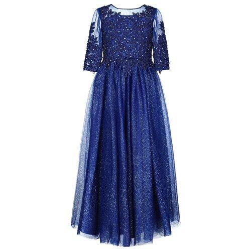 Фото - Платье для девочки Ciao Kids Couture CK1716 цвет синий 14 лет платье ciao kids collection размер 14 лет синий