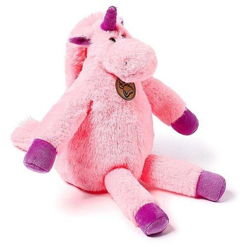 Мягкая игрушка Lapkin Единорог длинноногий розовый 28 см