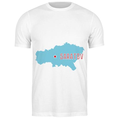 Футболка классическая Саратовская область. Саратов #2194797 (цвет: БЕЛЫЙ, пол: МУЖ, качество: ЭКОНОМ, размер: XL)