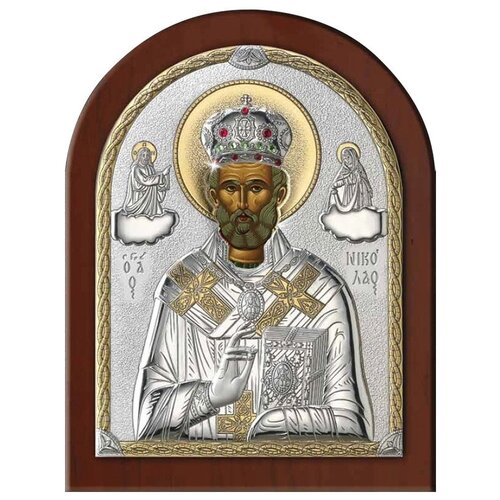 Икона Николай Угодник 84420, 8х11 см икона valenti георгий победоносец 84260 8х11 см