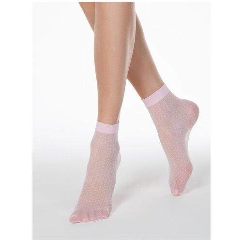Капроновые носки Conte Elegant 16С-127СП, размер 23-25, light pink