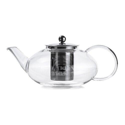 Чайник заварочный TalleR TR-31372 1250 мл., термостойкое боросиликатное стекло. 1360 tr чайник заварочный taller 600 мл