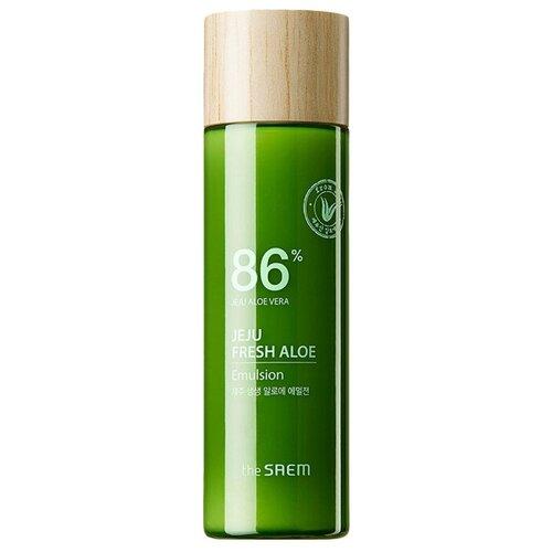 Фото - The Saem Jeju Fresh Aloe Emulsion Эмульсия для лица увлажняющая с алоэ, 155 мл эмульсия для лица с экстрактом алоэ aloe visible difference fresh emulsion 350мл