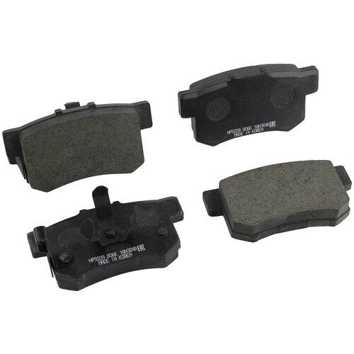 Дисковые тормозные колодки задние HONG SUNG BRAKE HP5209 для Honda Accord (4 шт.) дисковые тормозные колодки передние hong sung brake hp8153 для honda civic 4 шт