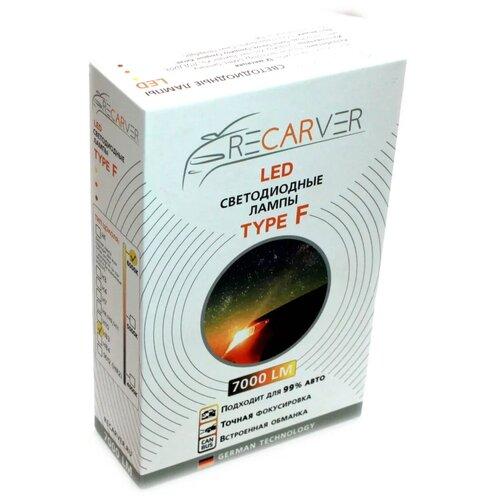 Лампа автомобильная светодиодная Recarver Type F H3 7000 lm 6000K RECTFLED0H3-6-2canbus 2 шт.