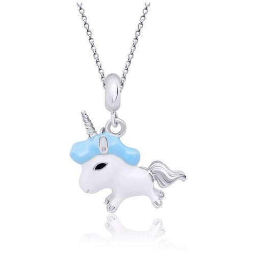 UMa & UMi Детский серебряный кулон подвеска Единорог UMI Magic Pets 319542400604