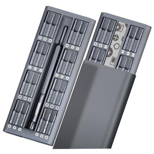 набор отверток jakemy jm p17 37 в 1 серый Набор отверток Jakemy JM-8169 (49 в 1) серый