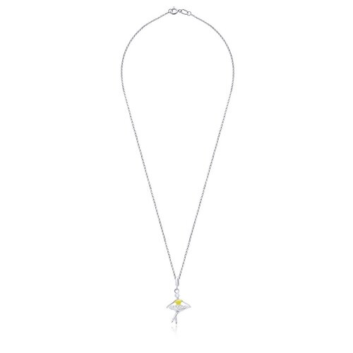 UMa & UMi Детский серебряный кулон подвеска Балерина UMI Symbols 319542300605