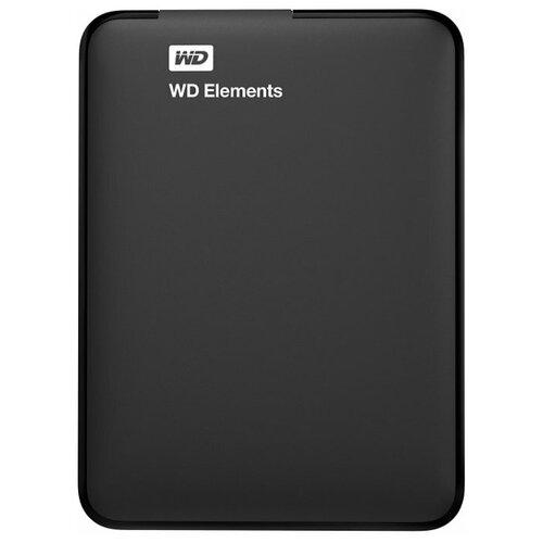 Фото - Внешний HDD Western Digital WD Elements Portable (WDBU) 2 TB, черный внешний hdd western digital wd elements portable wdbu 2 tb черный