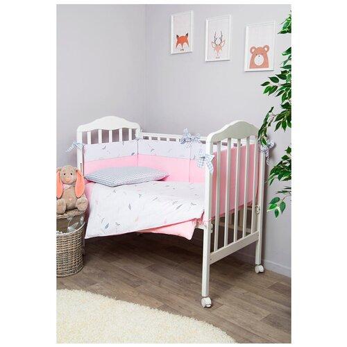 Фото - Сонный Гномик комплект Стрекоза-Егоза (6 предметов) розовый сонный гномик бортики подушки стрекоза егоза розовый