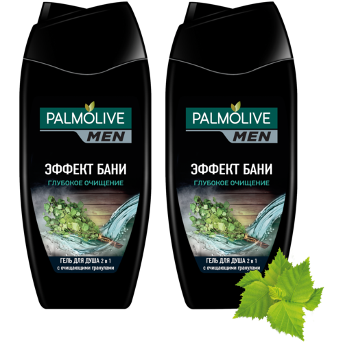 Фото - Гель для душа Palmolive Men Эффект бани Глубокое очищение, 250 мл, 2 шт. гель для душа 4 в 1 palmolive men очищение и перезагрузка 250 мл