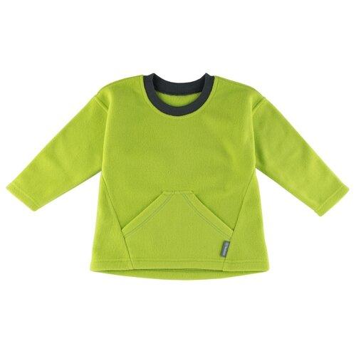 Лонгслив Bambinizon ФЛС-2-ЗЯ, размер: 110, цвет: зеленый