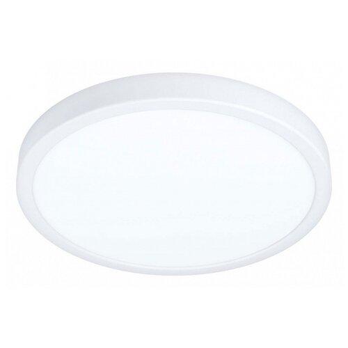 Фото - Накладной светильник Eglo ПРОМО, 1х20W, белый, размеры (мм)-285x28, 3000К, плафон - белый накладной светильник novotech 3х12w белый размеры мм 105x38x236 3000к плафон белый черный