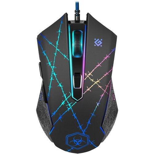 Мышь Defender Forced GM-020L, черный
