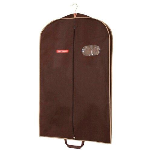 Фото - HAUSMANN Чехол для верхней одежды HM-701003 60x100 см коричневый hausmann чехол для верхней одежды hm 701403 140x60 см черный