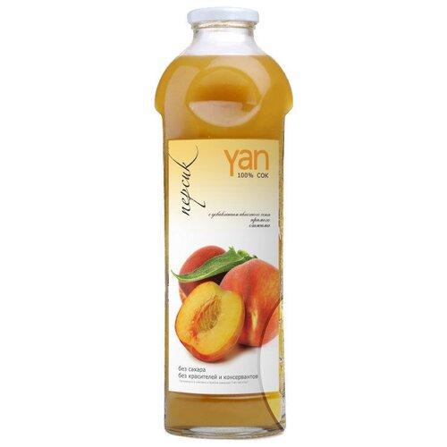 Фото - Сок Yan Персик, без сахара, 0.93 л без брэнда сок яблочный без сахара yan