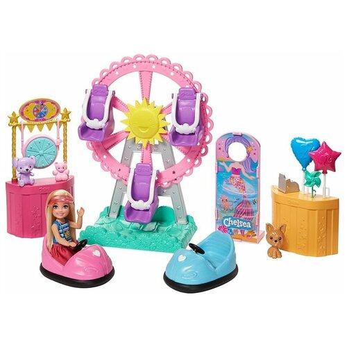 Игровой набор Barbie Club Chelsea Doll and Carnival Челси на карнавале, GHV82