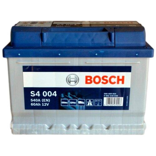Автомобильный аккумулятор Bosch S4 004 (0 092 S40 040)