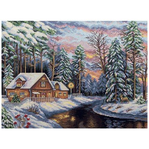 Купить Набор для вышивания PANNA Тихий сочельник 40x28.5 см, Наборы для вышивания