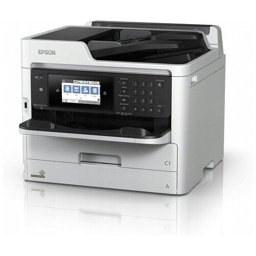Фото - МФУ Epson WorkForce Pro WF-M5799DWF, белый/черный компактный фотопринтер epson workforce wf 100w