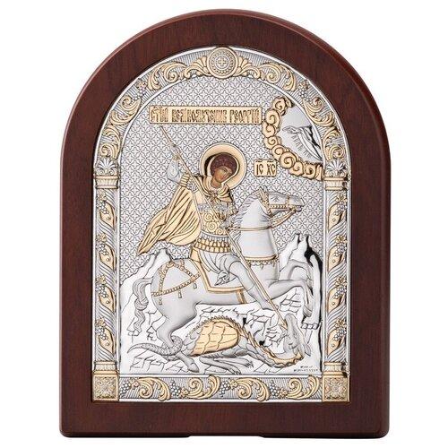 Икона Георгий Победоносец 84128ORO, 17х22 см икона valenti георгий победоносец 84260 8х11 см